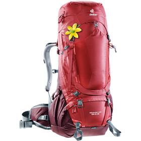 Deuter Aircontact Pro 55 + 15 SL Backpack Damen cranberry-aubergine